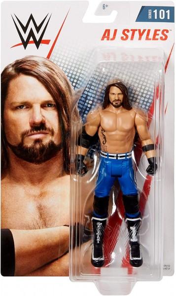 Mattel GCB84 WWE Wrestling Figur AJ Styles