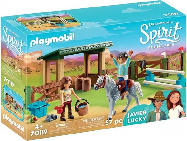 PLAYMOBIL 70119 Spirit - Riding Free Reitplatz