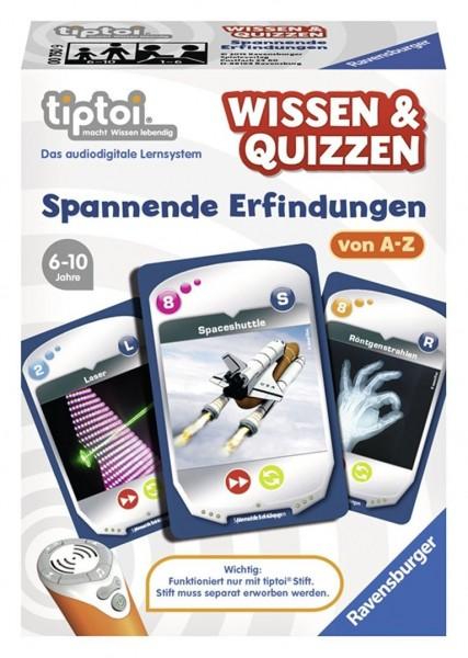 Ravensburger 00750 - tiptoi Wissen & Quizzen: Spannende Erfindungen