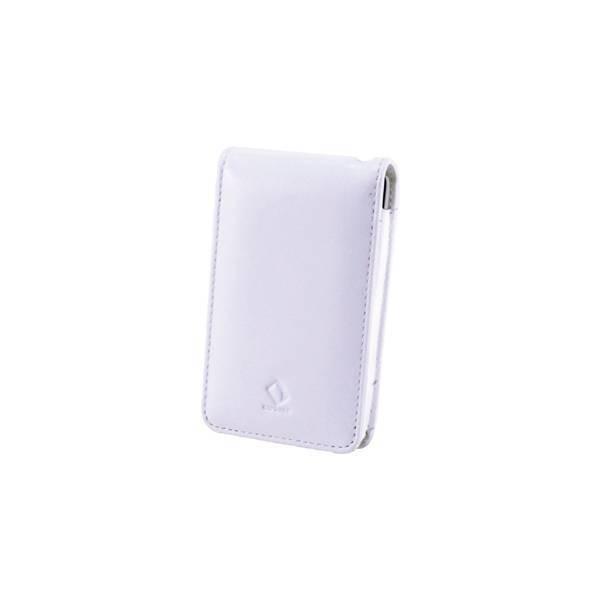 Capdase IPOD CLASSIC LEDER 80 WHT, Schutzhülle, Tasche