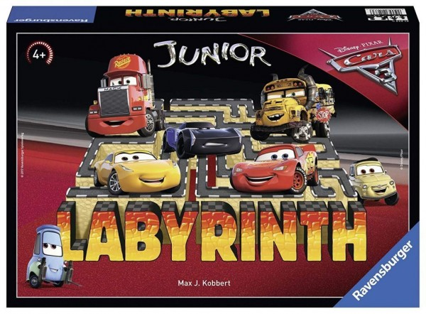 Ravensburger 21273 - Disney/Pixar Cars 3 Junior Labyrinth