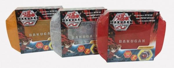 Bakugan 6045138 - Storage Case, Aufbewahrungskoffer, drei verschiedene Farben