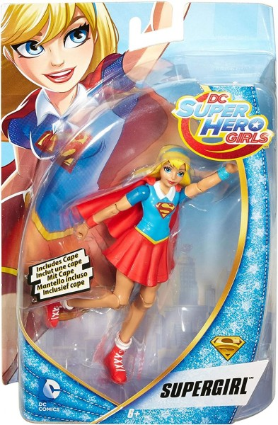 Mattel DMM34 - DC Super Hero Girls Supergirl Aktions-Figur