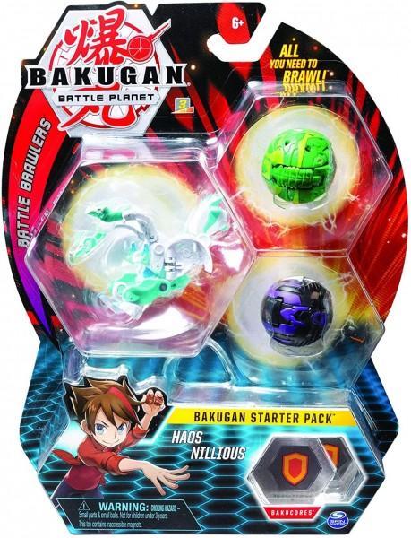Bakugan 6055456 - Starter Pack mit 3 Bakugan