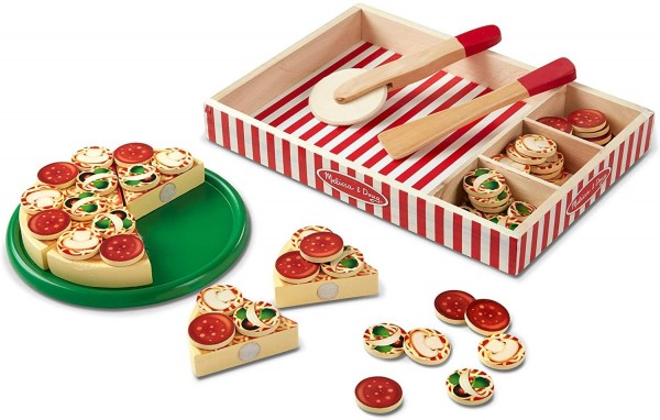 Melissa & Doug Pizza aus Holz (63 Teile)