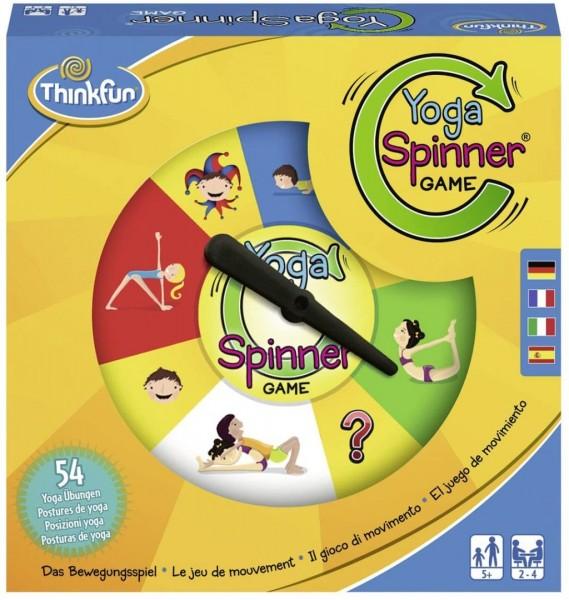 ThinkFun 76329 - Yoga Spinner Game