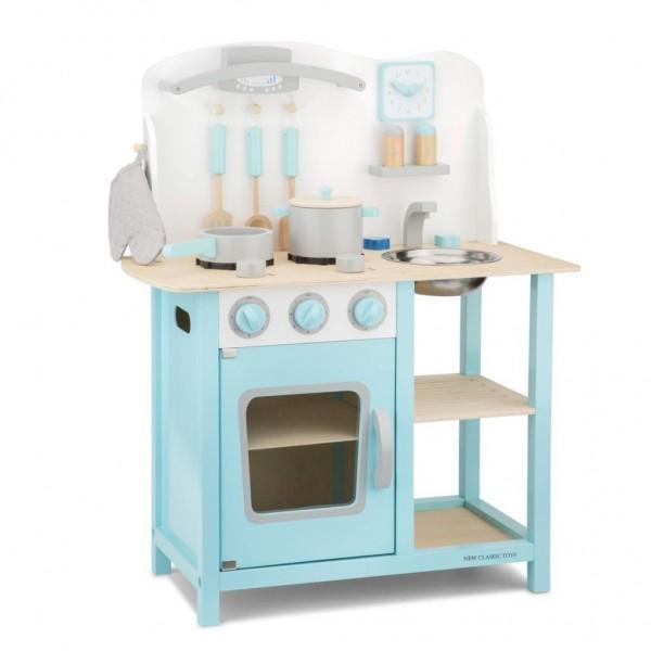 New Classic Toys 11057 Kinderküche - Bon Appetit BLAU