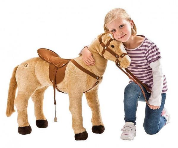 Happy People 58413 Palomino Pferd 4-fach Sound