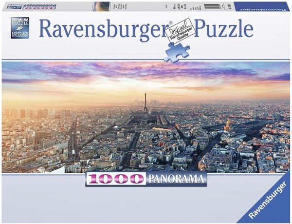 Ravensburger 15089 Paris Im Morgenglanz Puzzle 1000 Teile