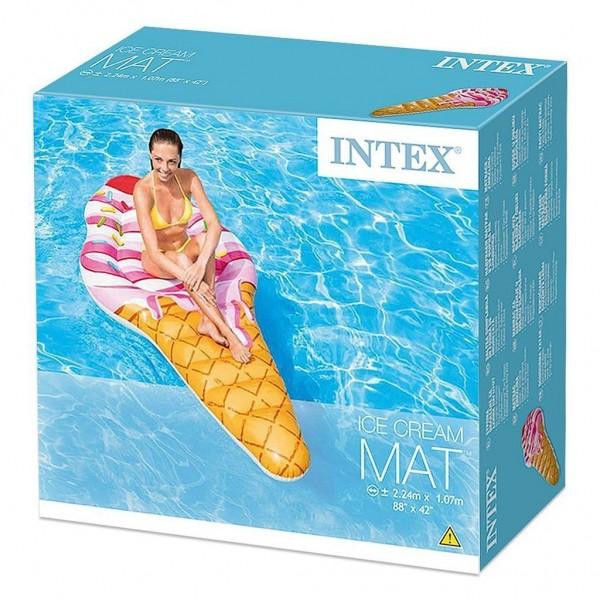 Intex 58762EU Lounge Ice Cream, 224 x 107 cm