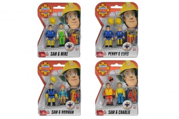 Simba 109257651 - Feuerwehrmann Sam Figuren Doppelpack