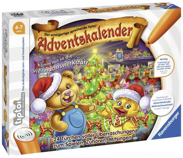 Ravensburger 00840 tiptoi Adventskalender 2018-Komm mit in die Weihnachtswerkstatt