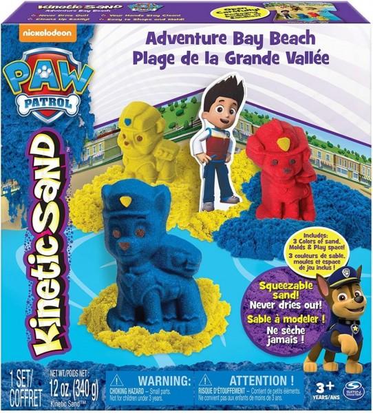 Kinetic Sand 6027965 – Paw Patrol Sandspiel Set