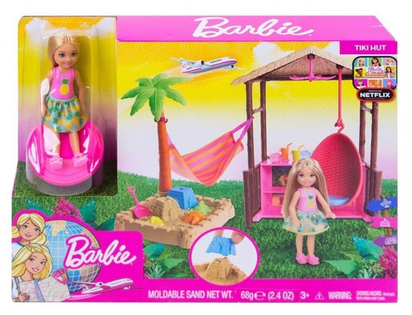 Barbie FWV24 - Reise Chelsea Ferieninsel