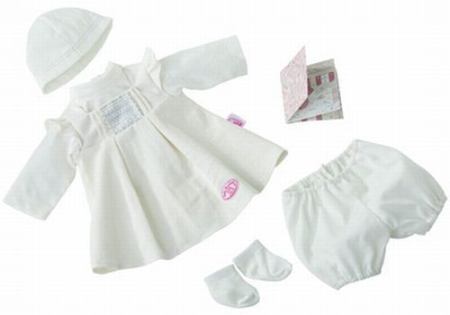 Zapf Cration 790380 Baby Annabell® Winteroutfit de luxe Set, Bekleidung Puppe