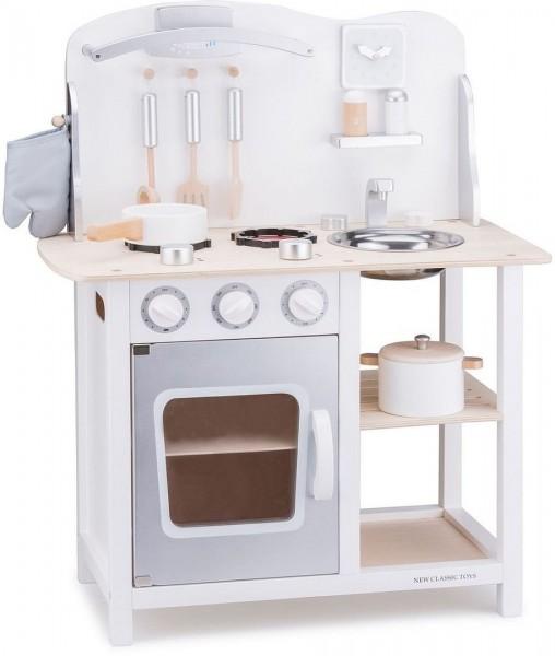 New Classic Toys 11053 Kinderküche - Bon Appetit WEISS