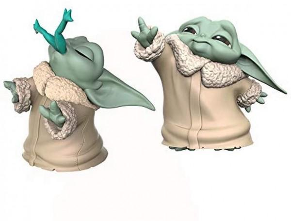 Hasbro F1254 Wars The Bounty Collection The Mandalorian Baby Yoda, Figuren 2er-Pack