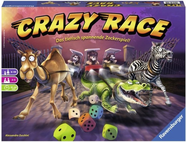 Ravensburger 26725 - CRAZY RACE
