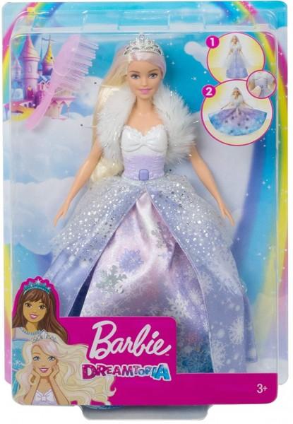 Mattel GKH26 - Dreamtopia Schneezauber Prinzessin