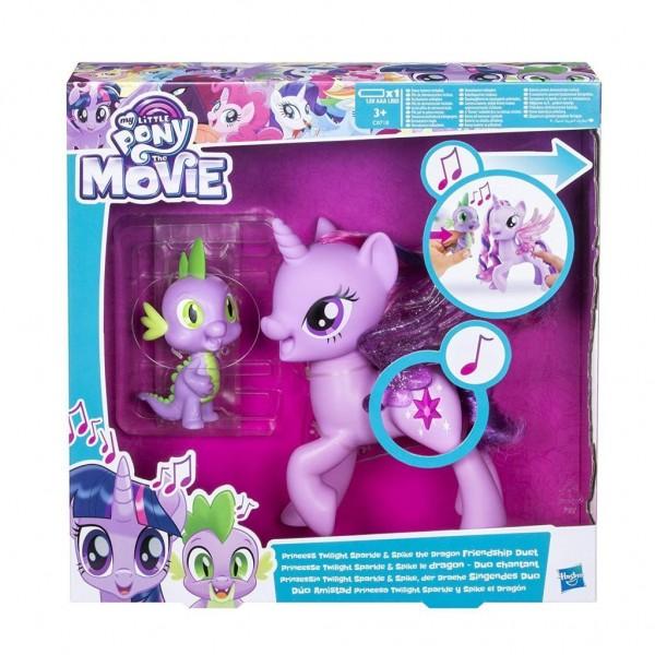 Hasbro My Little Pony C0718100 Prinzessin Twilight Sparkle und Spike