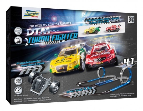 Darda 50244 - Darda Rennbahn DTM Turbo Fighter