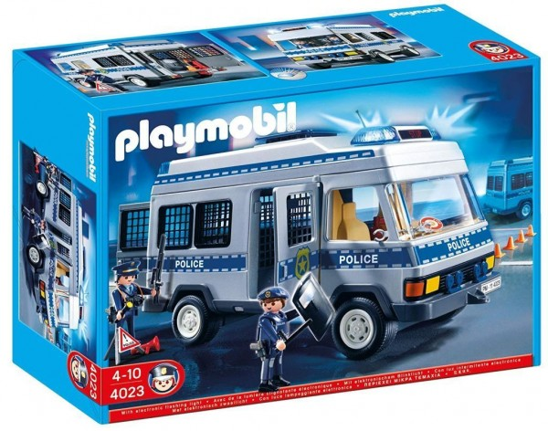 PLAYMOBIL 4023 - Police Transport Vehicle