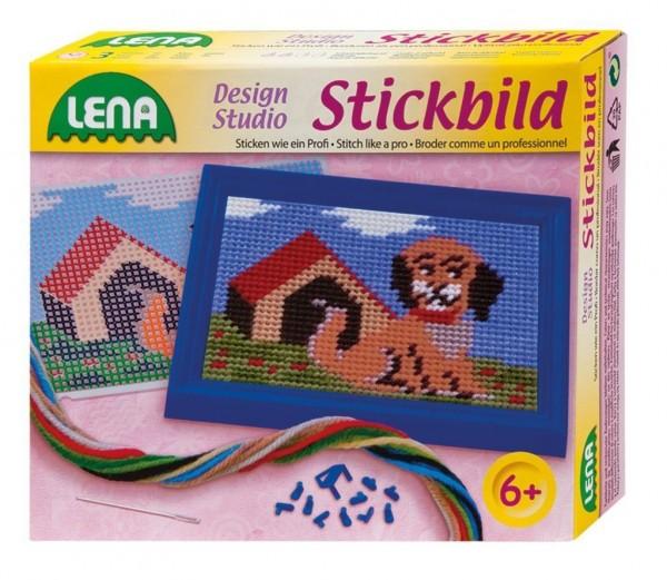 Lena 42603 - Bastelset Stickbild Hund