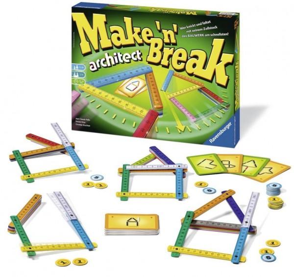 Ravensburger 26345 - Make 'n' Break architect
