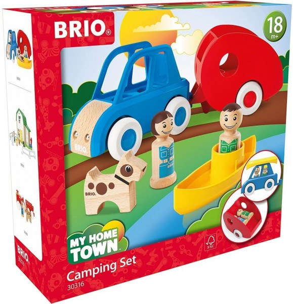 Brio My Home Town 30316 Campingset