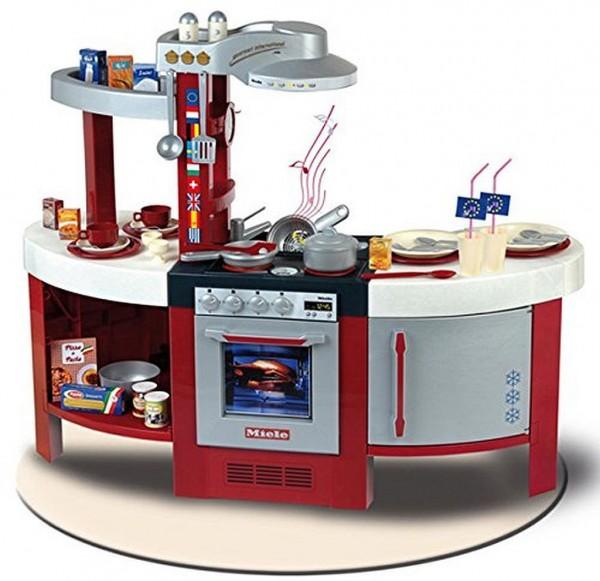 Theo Klein 9155 Küche Miele Gourmet International mit viel Zubehör