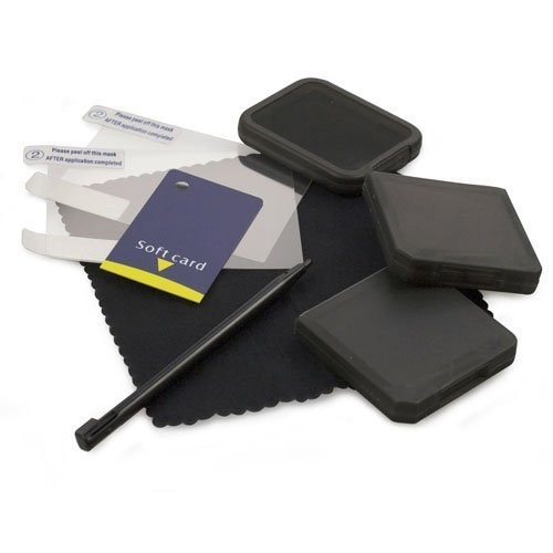 A4T DSi Essentials 6in1 Pack Black, Skin, Schutzhülle, Faceplate
