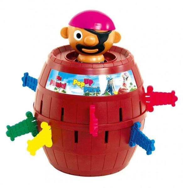 TOMY Kinderspiel Pop Up Pirate - hochwertiges Aktionsspiel für die ganze Familie