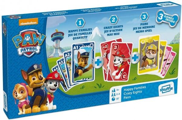 Spin Master 108435902 Paw Patrol 3 in 1 Kartenspielbox