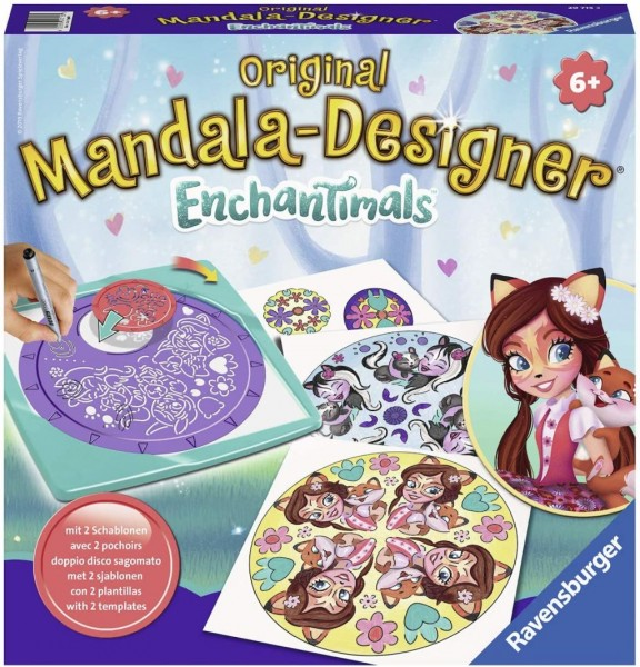 Ravensburger 29715 - Mandala Designer Enchantimals