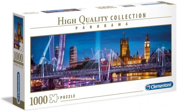 Clementoni 39485 Collection London Puzzle Panorama, 1000 Teile