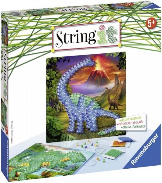 Ravensburger 18031 String It Midi: Dinosaurs