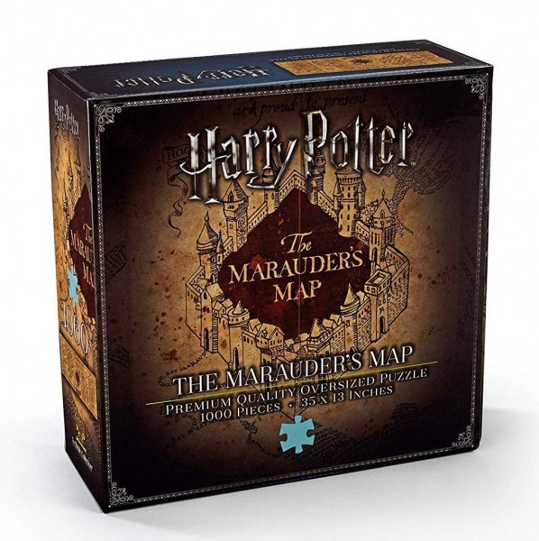 The Noble Collection Harry Potter Marauders Map Jigsaw Puzzle, 1.000 Teile