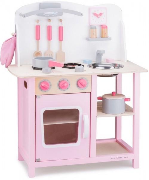 New Classic Toys 11054 Küchenzeile Bon Appetit PINK