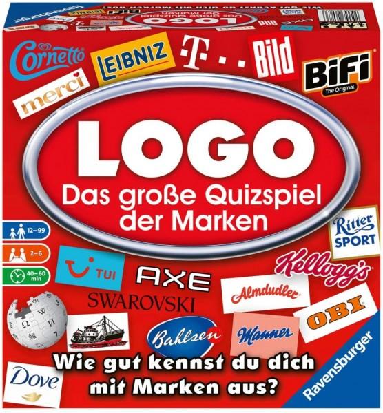 Ravensburger 26083 - LOGO - Das große Quizspiel der Marken