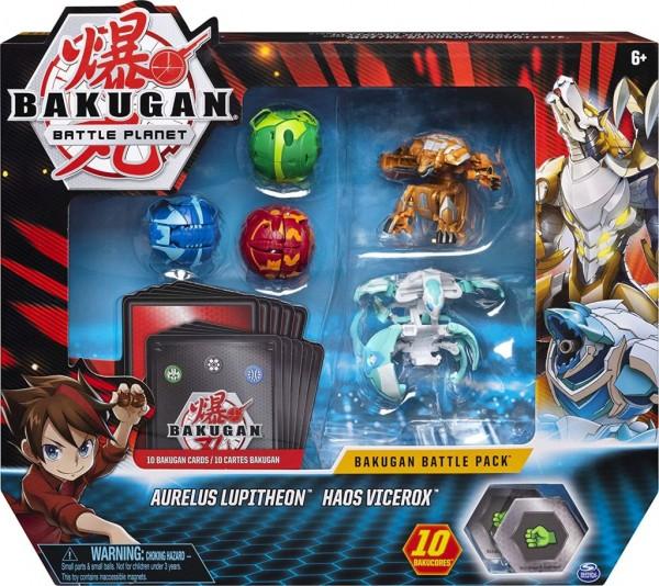 Bakugan 6058561 Battle Pack Aurelus Lupitheon