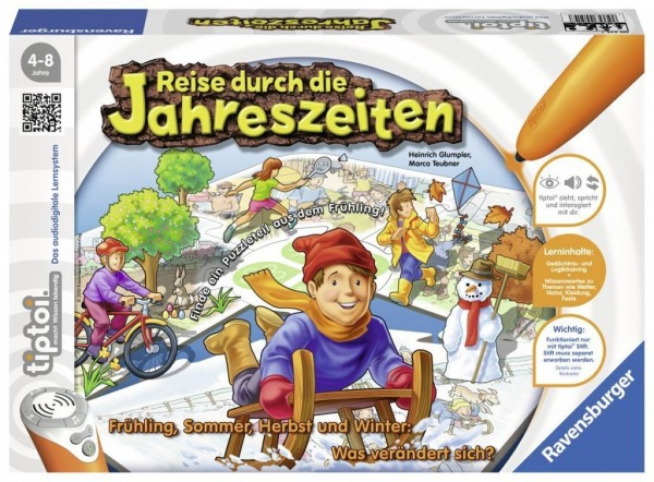 Ravensburger 00514 - Tiptoi Spiel Reise durch die Jahreszeiten