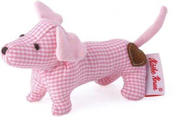 Käthe Kruse 0178377 Mini Greifling Dackel, rosa